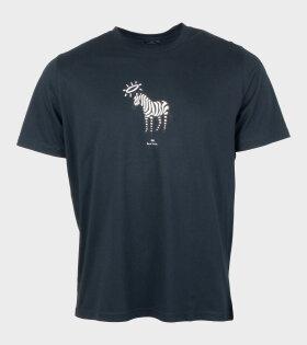Paul Smith Zebra T-shirt Black - dr. Adams