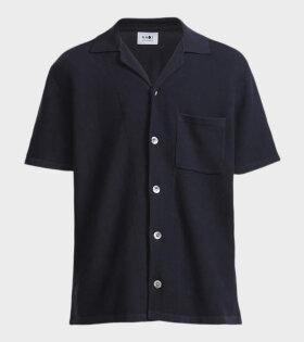 NN07 Miyagi Knit Blue - dr. Adams