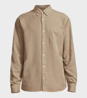 NN07 Levon Shirt Beige - dr. Adams