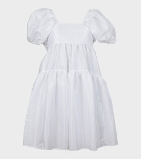 Cecilie Bahnsen Ronja Dress Faille White - dr. Adams