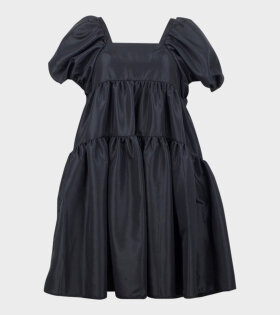 Cecilie Bahnsen Ronja Dress Faille Black - dr. Adams