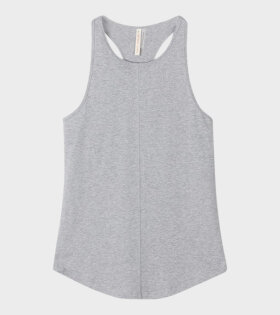 Filippa K Cotton Racer Tank Grey - dr. Adams