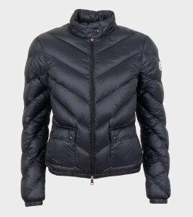 Moncler Lanx Giubbotto Jacket Black - dr. Adams