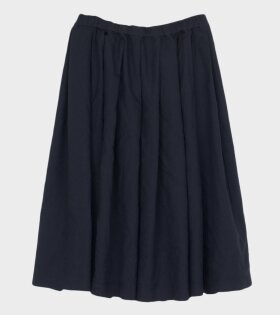 Comme des Garcons Girl Skirt A-line Navy - dr. Adams