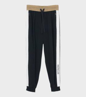Moncler Pantalone Trouser Black - dr. Adams