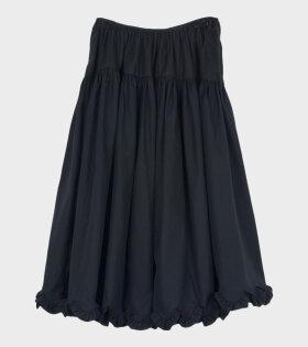 Cecilie Bahnsen Kasumi Skirt Black - dr. Adams