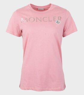 Moncler Girocollo T-Shirt Pink - dr. Adams