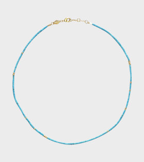 Anni Lu Sun Stalker Necklace Blue - dr. Adams