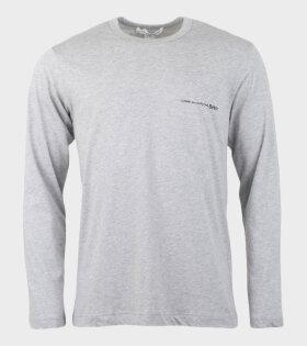 Comme des Garcons Shirt Long Sleeved Shirt Grey - dr. Adams