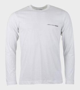 Comme des Garcons Shirt Long Sleeved Shirt White - dr. Adams