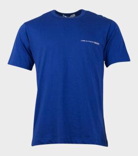 Comme des Garcons Shirt S/S T-shirt Blue - dr. Adams