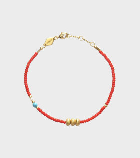 Anni Lu Wave Chaser Bracelet Red - dr. Adams