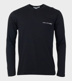 Comme des Garcons Shirt Long Sleeved Shirt Black - dr. Adams