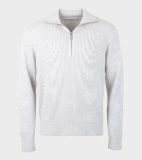 Filippa K M.Timothy Sweater Grey - dr. Adams