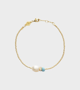 Anni Lu Sun Dance Bracelet Gold/Blue - dr. Adams