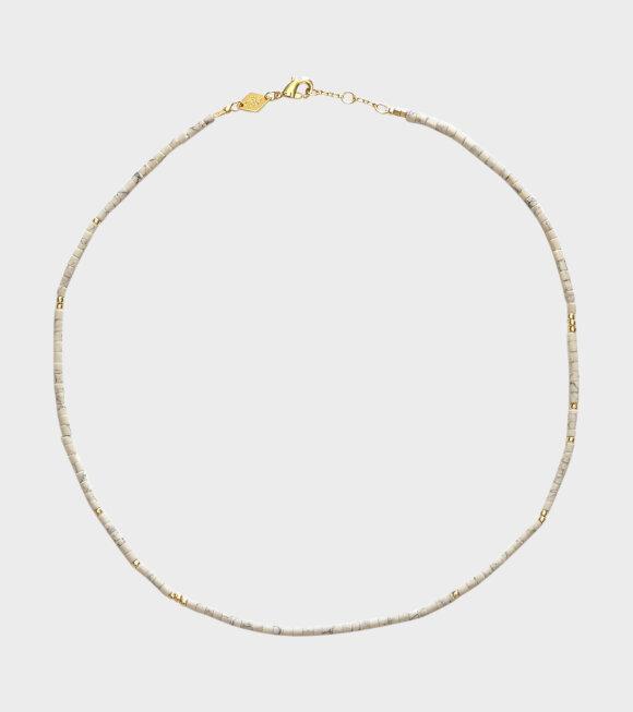 Anni Lu - Sun Stalker Necklace White
