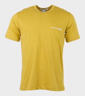 Comme des Garcons Shirt S/S T-shirt Yellow - dr. Adams