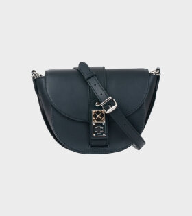 Proenza Schouler PS11 Small Saddle Bag Black - dr. Adams