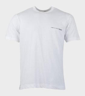 Comme des Garcons Shirt S/S T-shirt White - dr. Adams