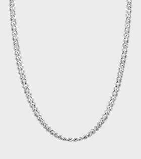Tom Wood Curb Chain 62,5 cm. Silver L - dr. Adams