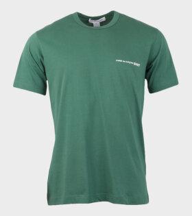 Comme des Garcons Shirt S/S T-shirt Green - dr. Adams