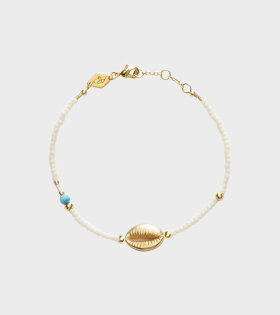 Anni Lu Wave Chaser Bracelet Cream - dr. Adams