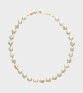 Anni Lu Stellar Pearly Necklace White - dr. Adams