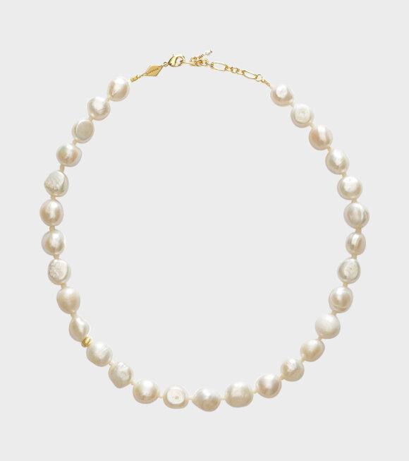 Anni Lu - Stellar Pearly Necklace White