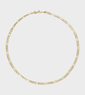 Anni Lu Figaro Necklace Gold - dr. Adams