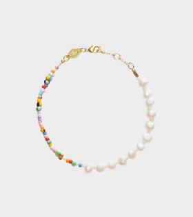 Anni Lu Pearly Alaia Bracelet Multicolor - dr. Adams