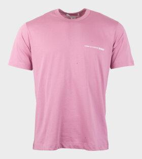 Comme des Garcons Shirt S/S T-shirt Pink - dr. Adams