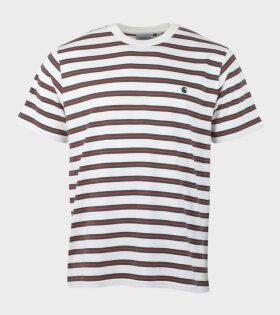 Carhartt WIP Oakland T-Shirt Multicolor - dr. Adams
