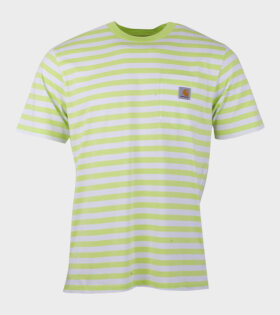 Carhartt WIP S/S Scotty Pocket T-shirt Green - dr. Adams