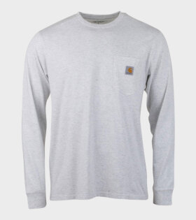 L/S Pocket T-Shirt Grey
