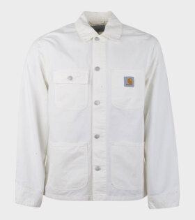 Carhartt WIP Michigan Coat White - dr. Adams