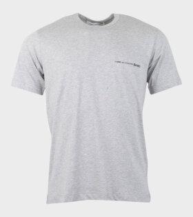 Comme des Garcons Shirt S/S T-shirt Grey - dr. Adams