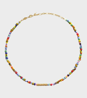 Anni Lu Golden Alaia Necklace Multicolor - dr. Adams