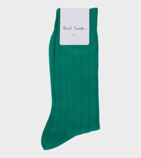 Paul Smith Men's Green Socks - dr. Adams