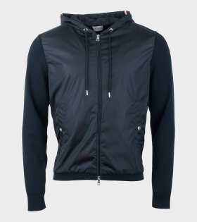 Moncler Gardigan Tricot Jacket Blue - dr. Adams