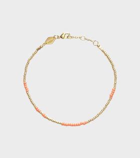 Anni Lu ASYM Peach Bracelet Gold - dr. Adams
