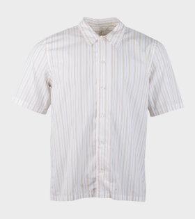 Sunflower Space Shirt S/S Beige - dr. Adams