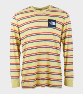 The North Face M Boruda L/S T-shirt Yellow - dr. Adams