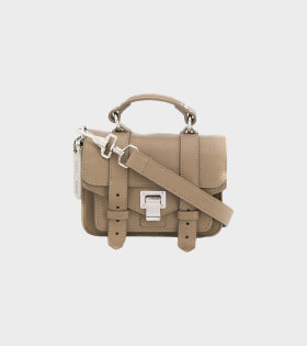 Proenza Schouler PS1 Micro Lux Leather Beige - dr. Adams