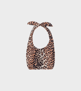 Ganni Padded Tech Fabric Leopard - dr. Adams