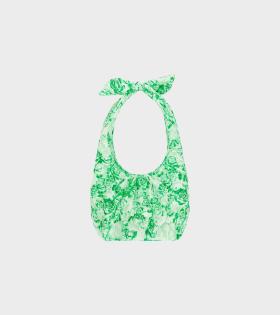 Ganni Padded Tech Fabric Green - dr. Adams