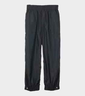 Ganni Recyled Ripstop Qilt Pants Black - dr. Adams