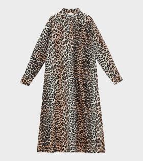 Ganni Maxi Dress Leopard - dr. Adams