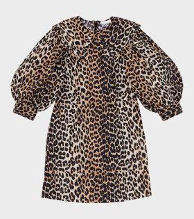 Ganni Mini Dress Leopard - dr. Adams