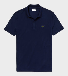 Lacoste Slim Fit Polo T-shirt Navy - dr. Adams