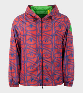 Moncler Jau Giubbotto Jacket Red - dr. Adams